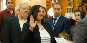 State Representative Beth Liston is sworn in to the 133rd General Assembly alongside her friends and family.